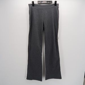 Women's Moda International Gray Stretch Pants L